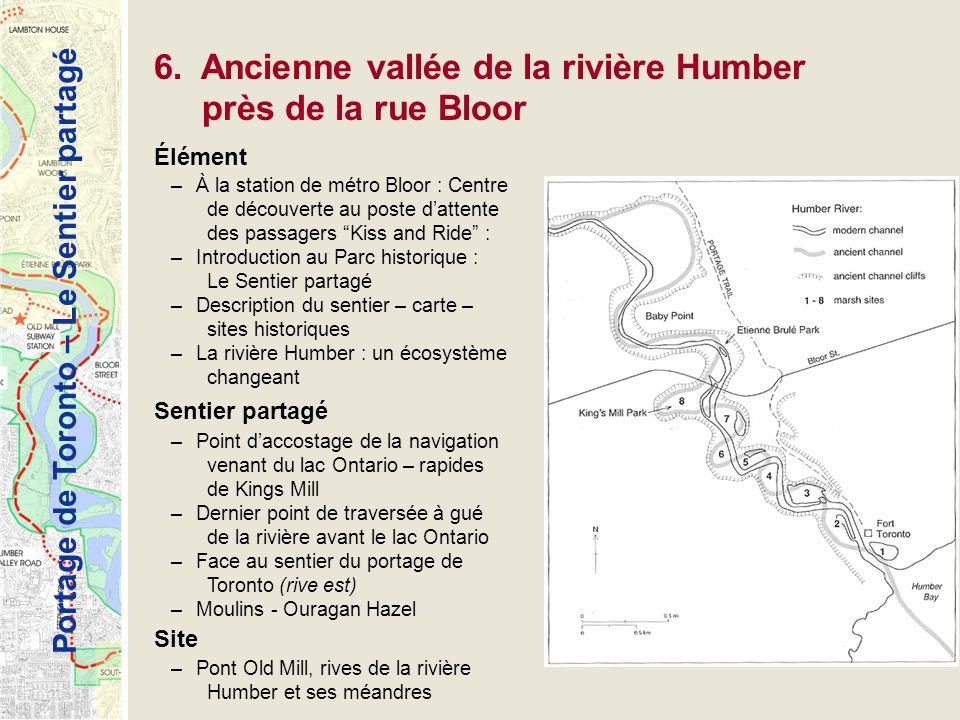 6. Ancienne vallée de la rivière Humber près de la rue Bloor