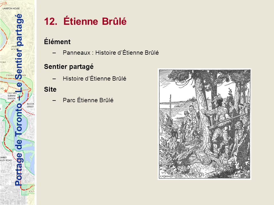 12. Étienne Brûlé Élément Sentier partagé Site