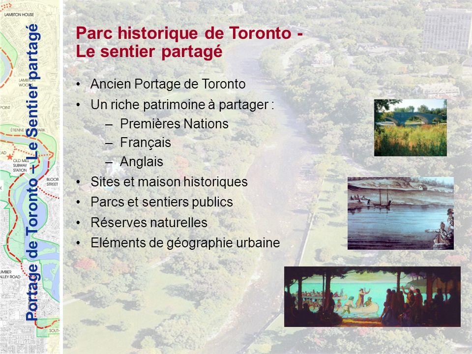Parc historique de Toronto - Le sentier partagé