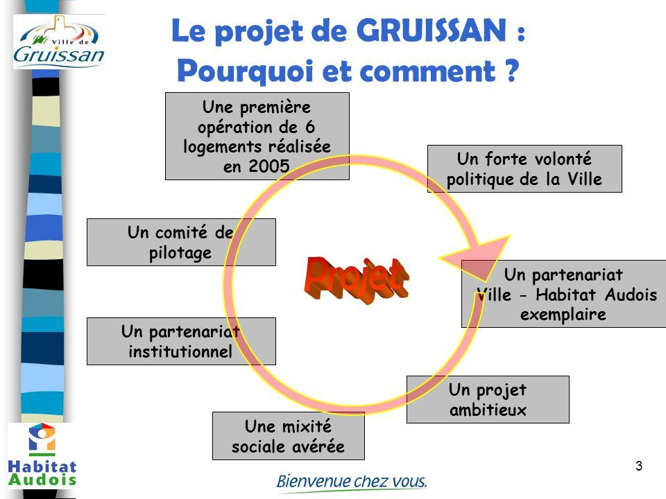 Le projet de GRUISSAN : Pourquoi et comment