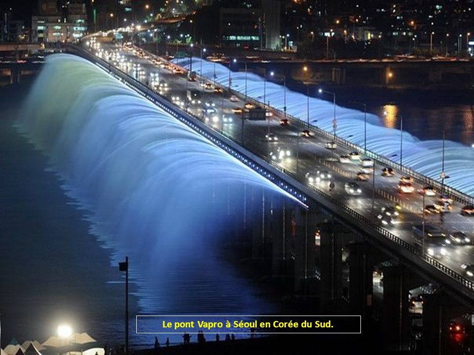 Le pont Vapro à Séoul en Corée du Sud.