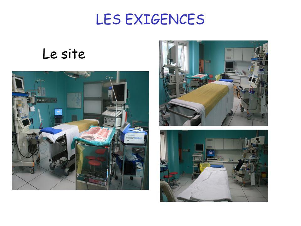 LES EXIGENCES Le site