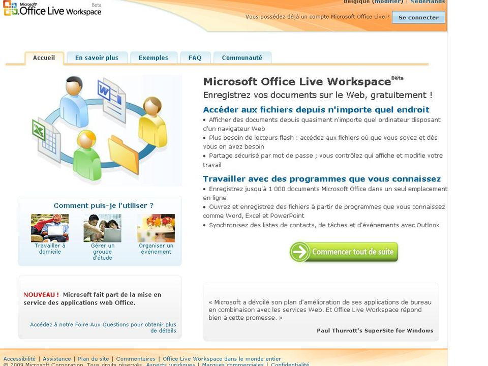 • Microsoft OGA Press Briefing 23/01/2009 •