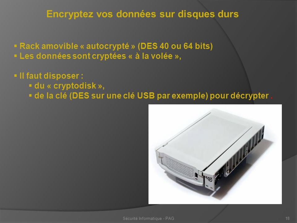 Sécurité Informatique - PAG