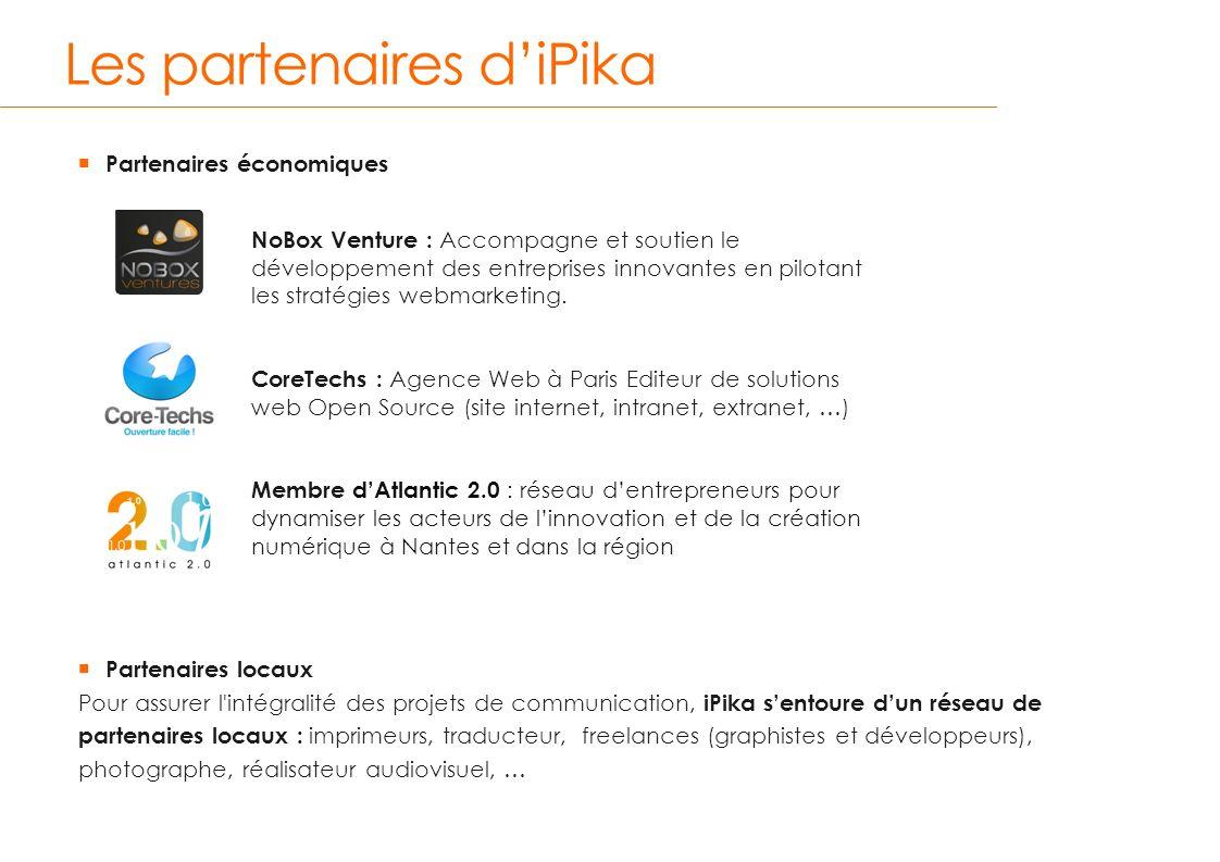 Les partenaires d'iPika