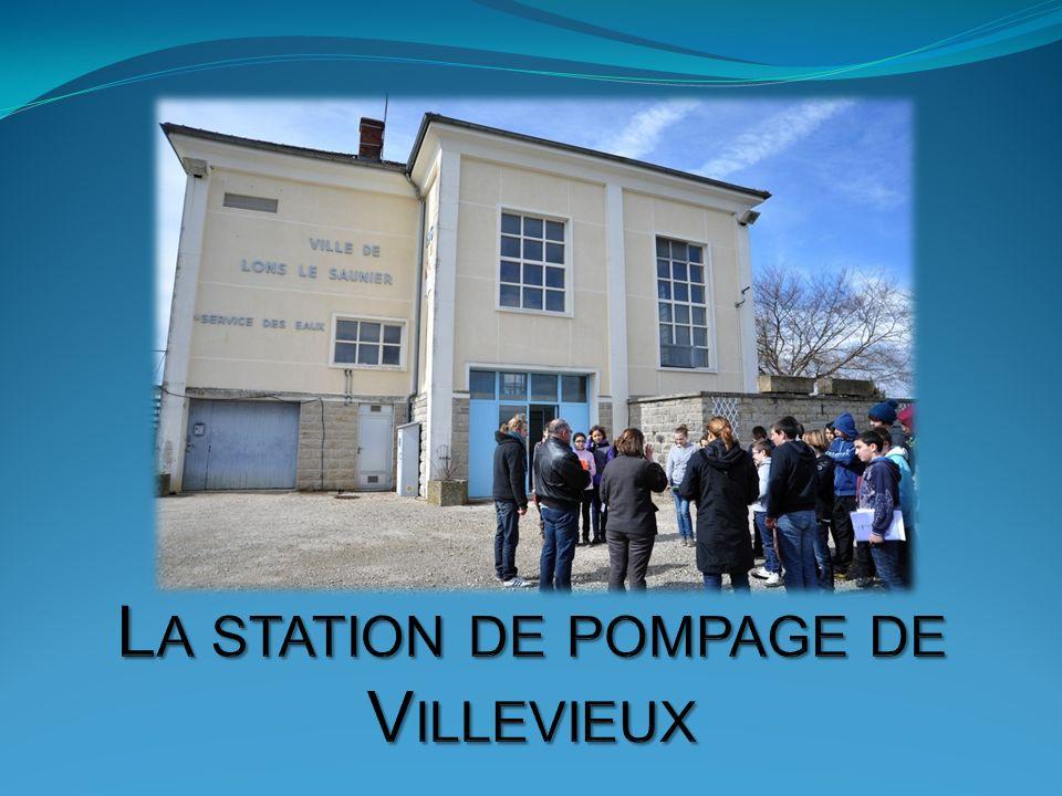 La station de pompage de Villevieux