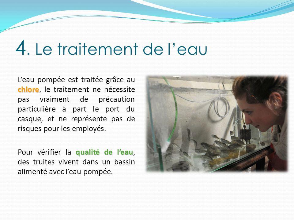 4. Le traitement de l'eau