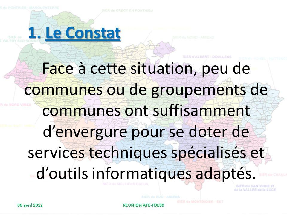 1. Le Constat