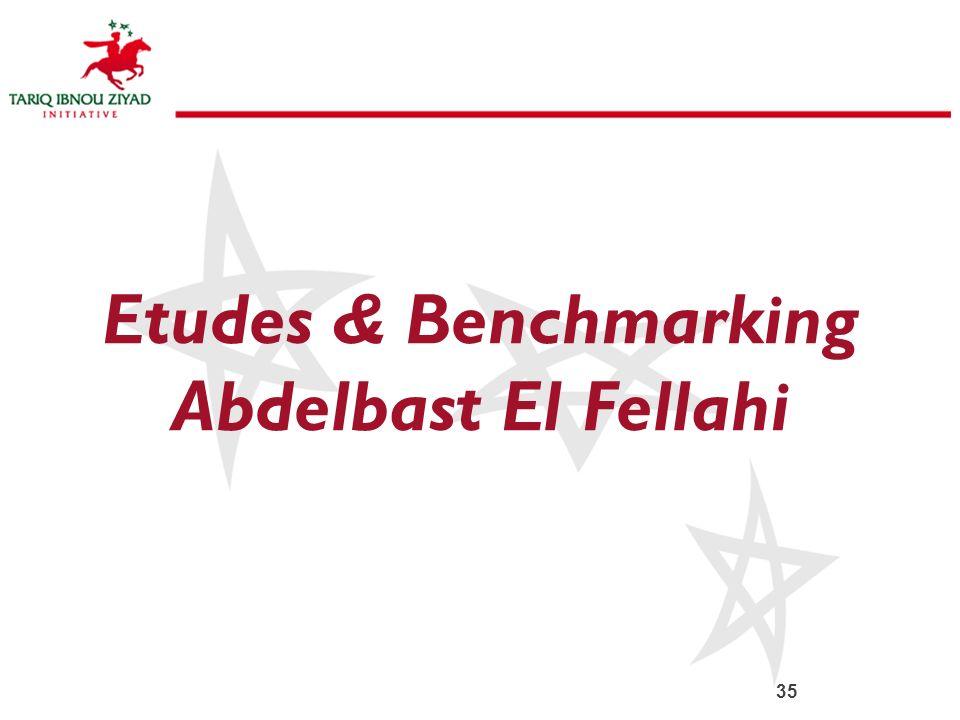 Etudes & Benchmarking Abdelbast El Fellahi