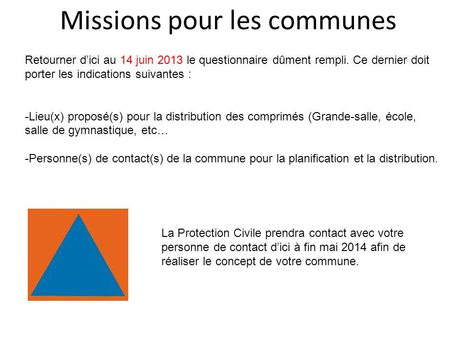 Missions pour les communes