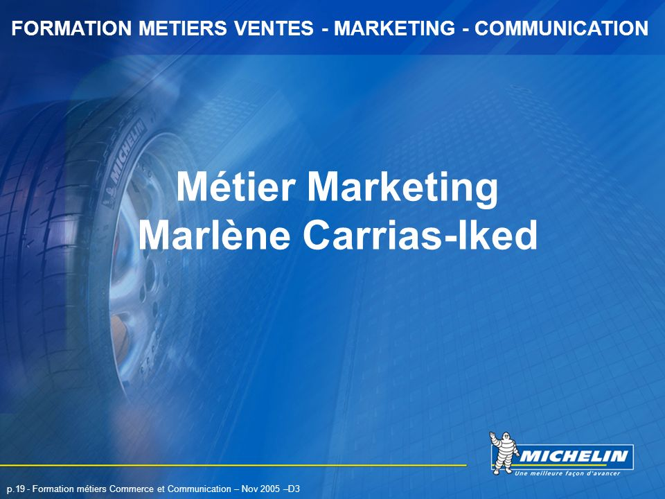 Métier Marketing Marlène Carrias-Iked