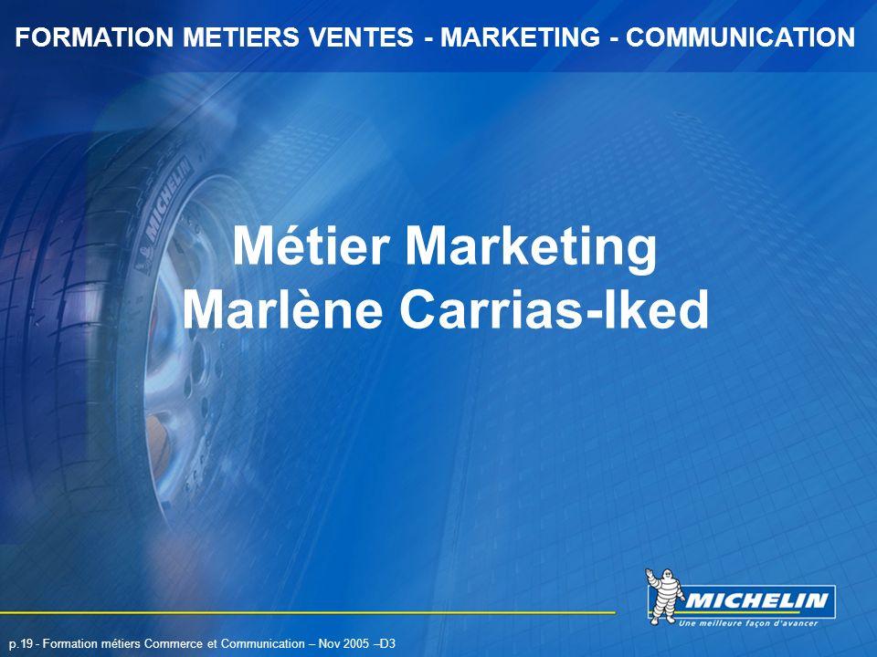 Métier Marketing Marlène Carrias-Iked