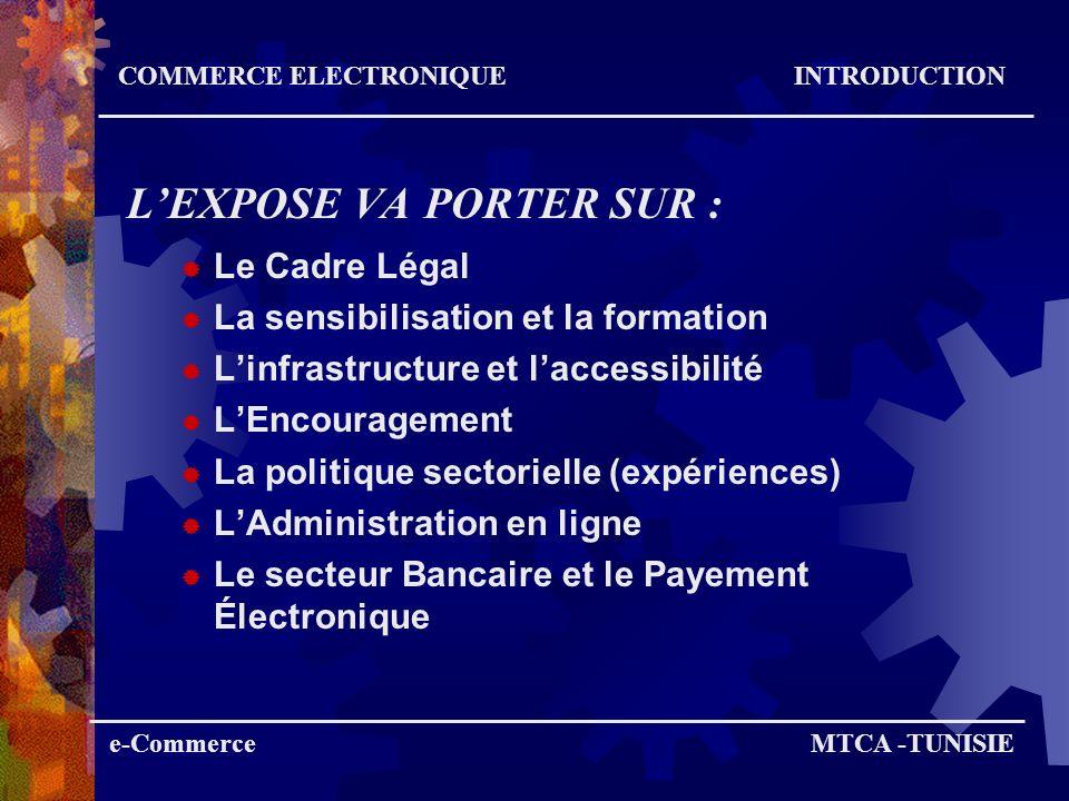 L'EXPOSE VA PORTER SUR :