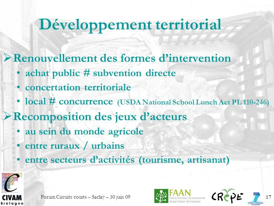 Développement territorial