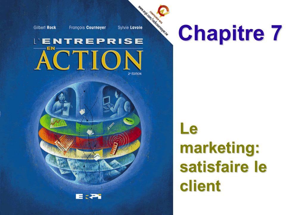 Le marketing: satisfaire le client