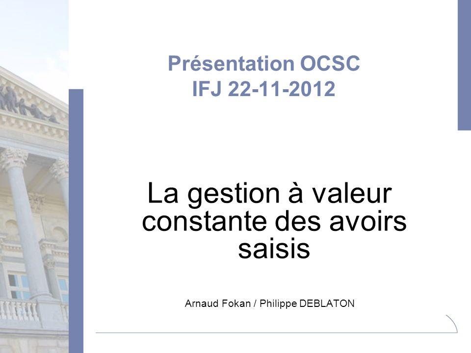 Présentation OCSC IFJ 22-11-2012