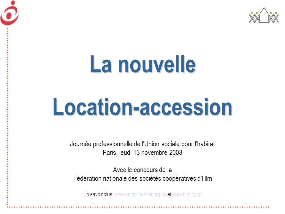 La nouvelle Location-accession