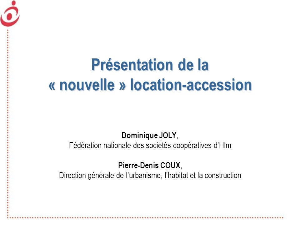 « nouvelle » location-accession