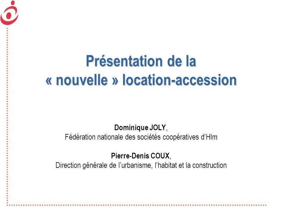 « nouvelle » location-accession