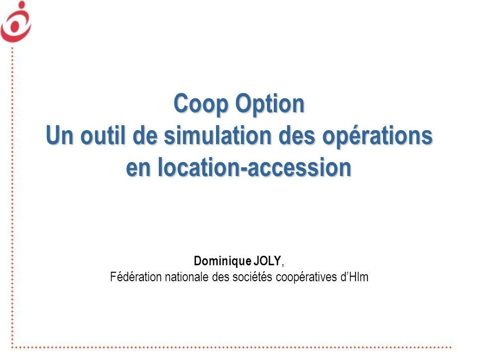 Un outil de simulation des opérations en location-accession