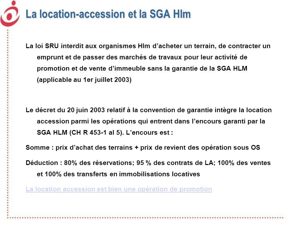 La location-accession et la SGA Hlm