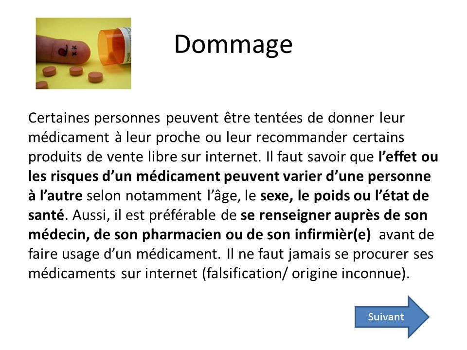 Dommage