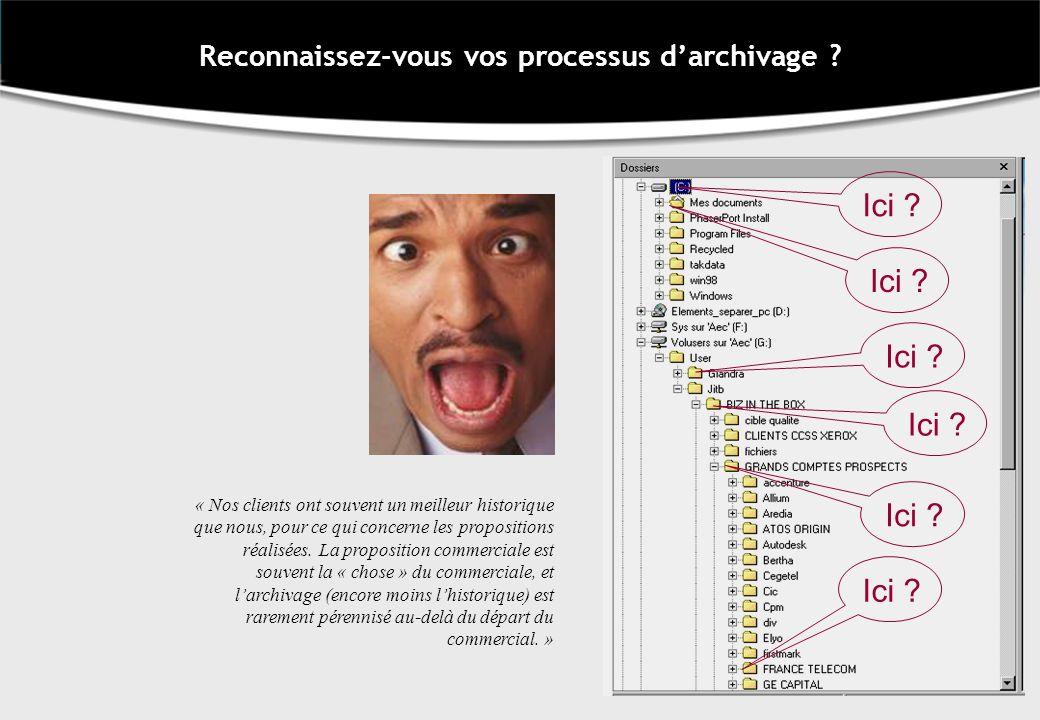 Reconnaissez-vous vos processus d'archivage