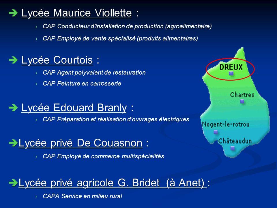 Lycée Maurice Viollette :