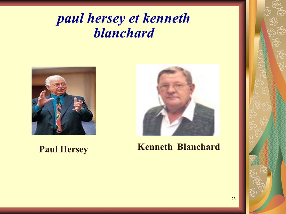 paul hersey et kenneth blanchard