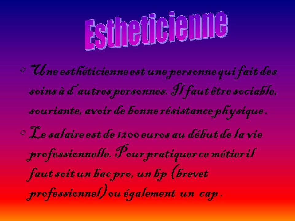 Estheticienne