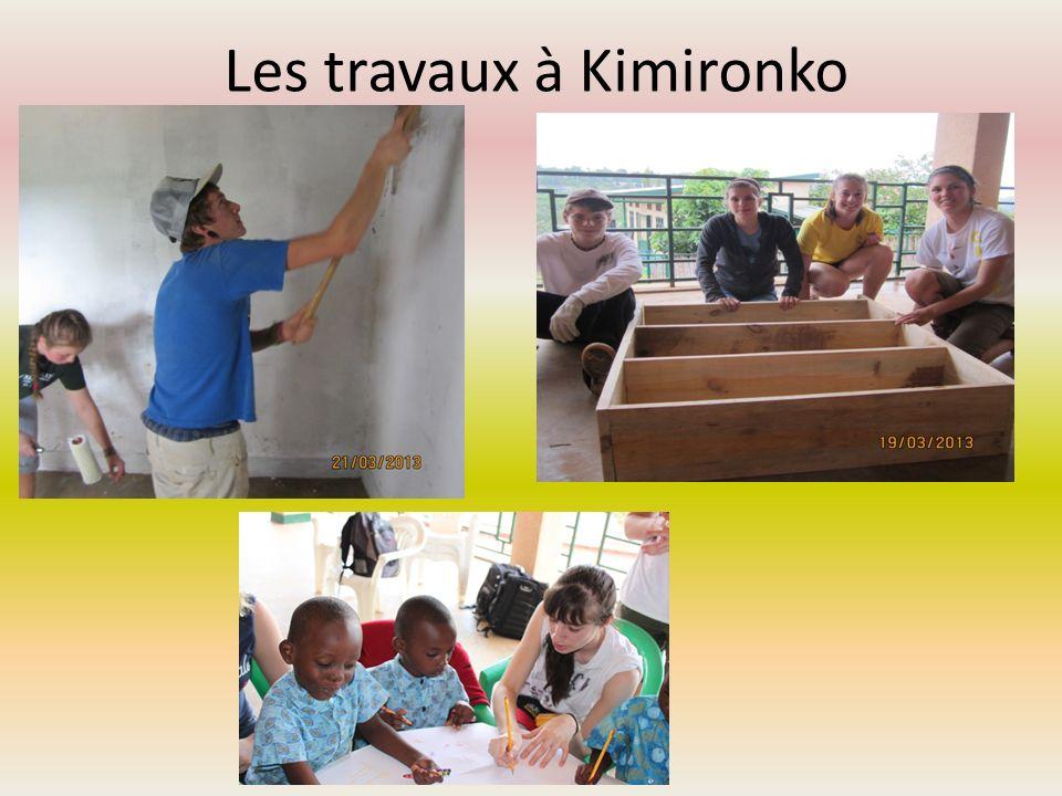 Les travaux à Kimironko