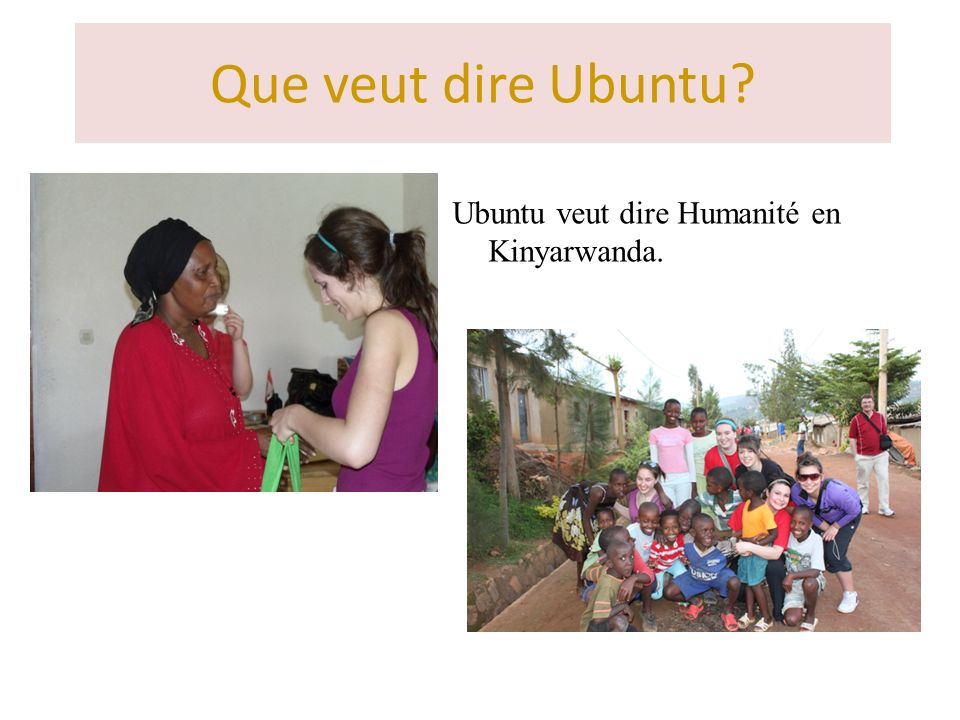 ubuntu un projet humanitaire ppt t l charger. Black Bedroom Furniture Sets. Home Design Ideas