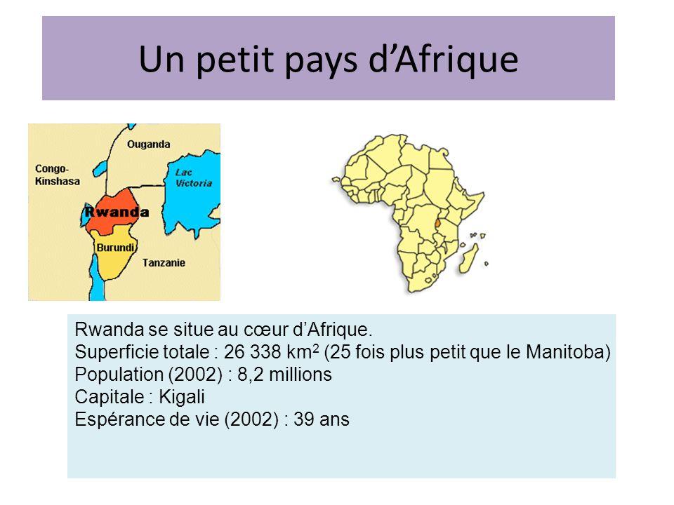 Un petit pays d'Afrique