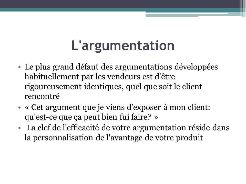 L argumentation