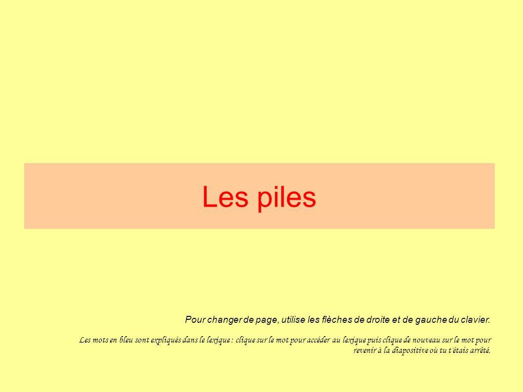les piles pour changer de page  utilise les fl u00e8ches de droite et de gauche du clavier  les mots