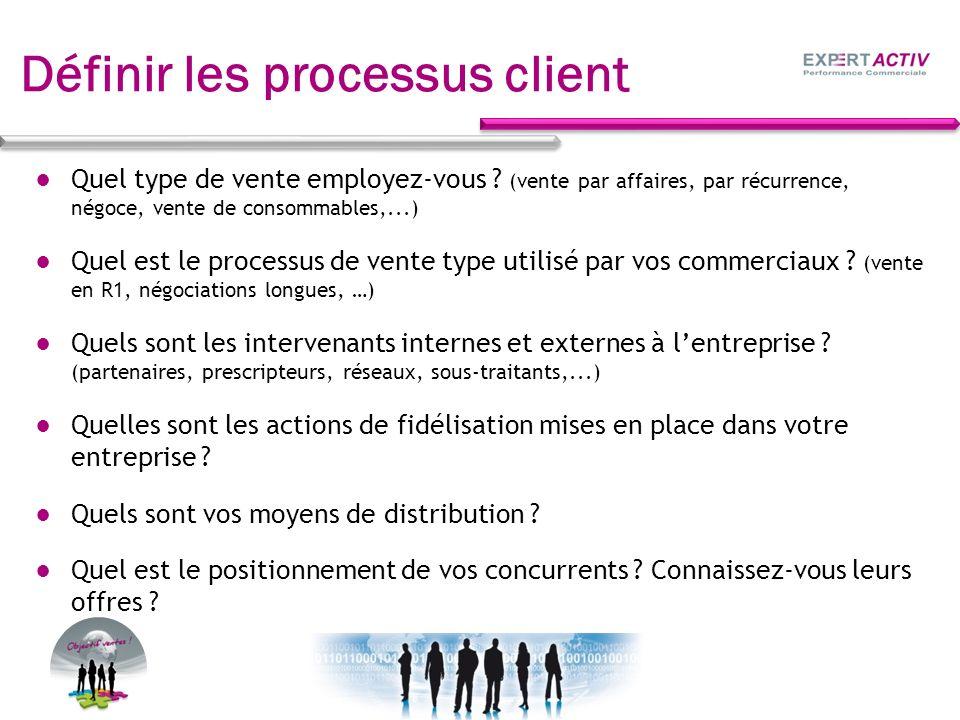 Définir les processus client