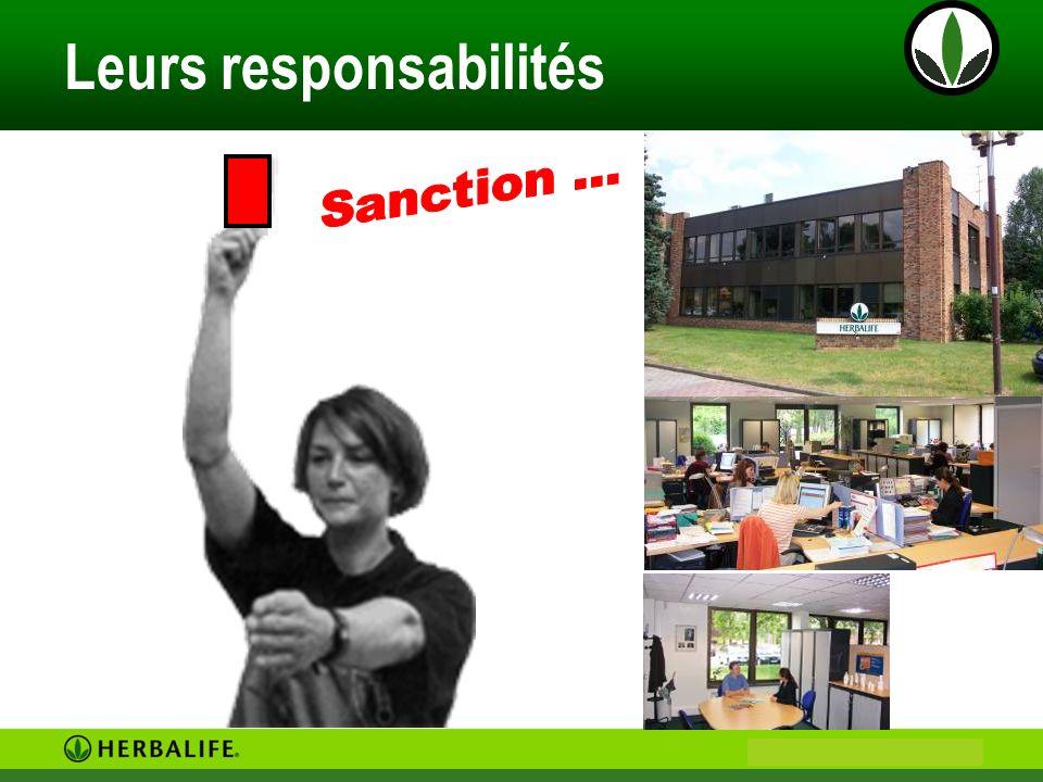Leurs responsabilités