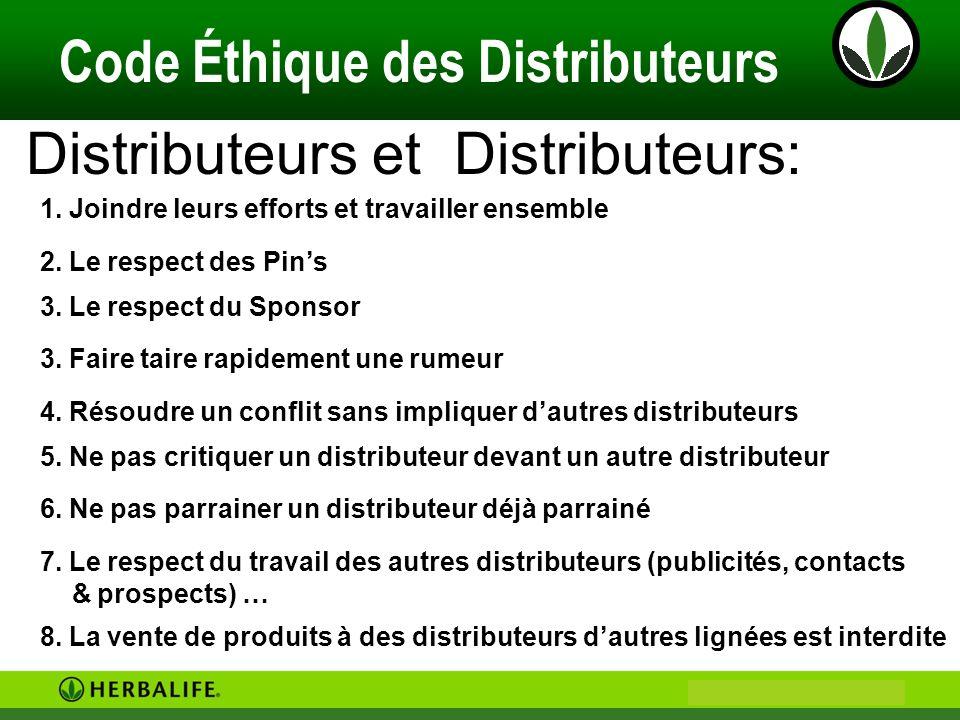 Distributeurs et Distributeurs: