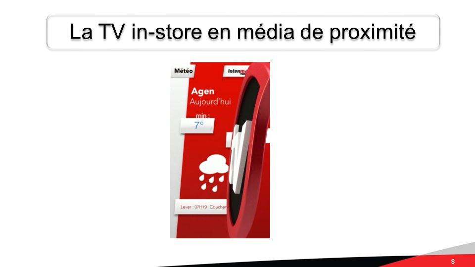 La TV in-store en média de proximité