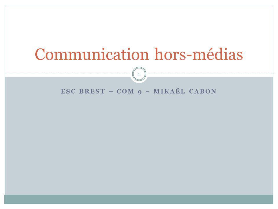 Communication hors-médias