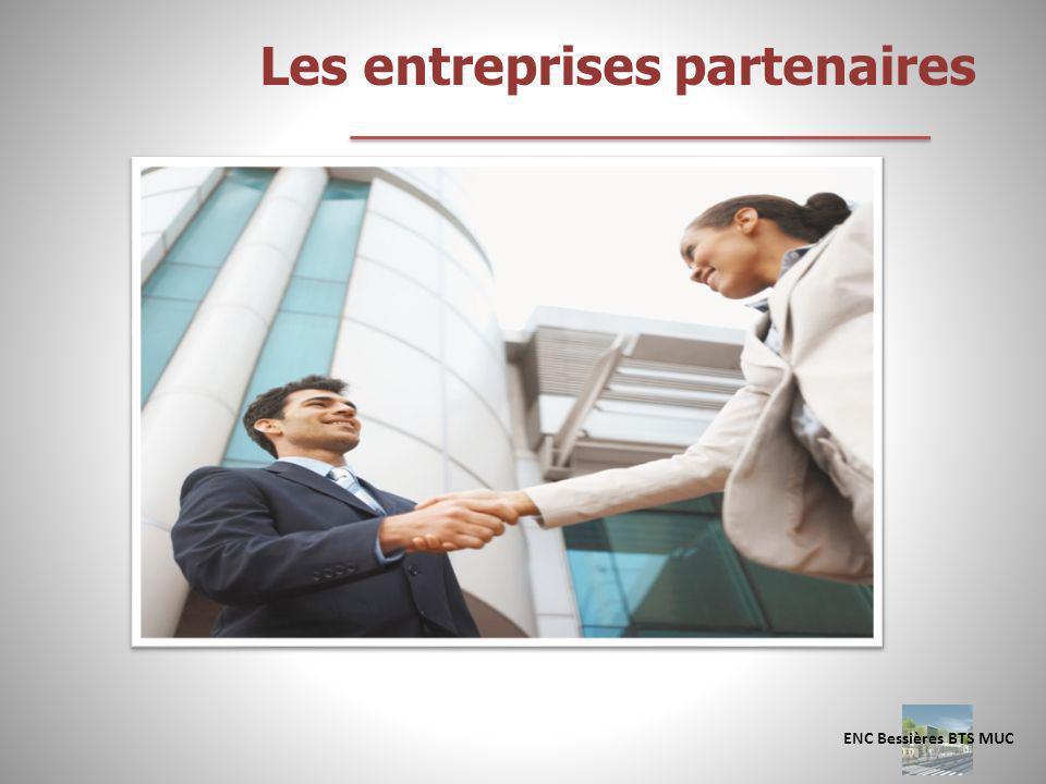Les entreprises partenaires
