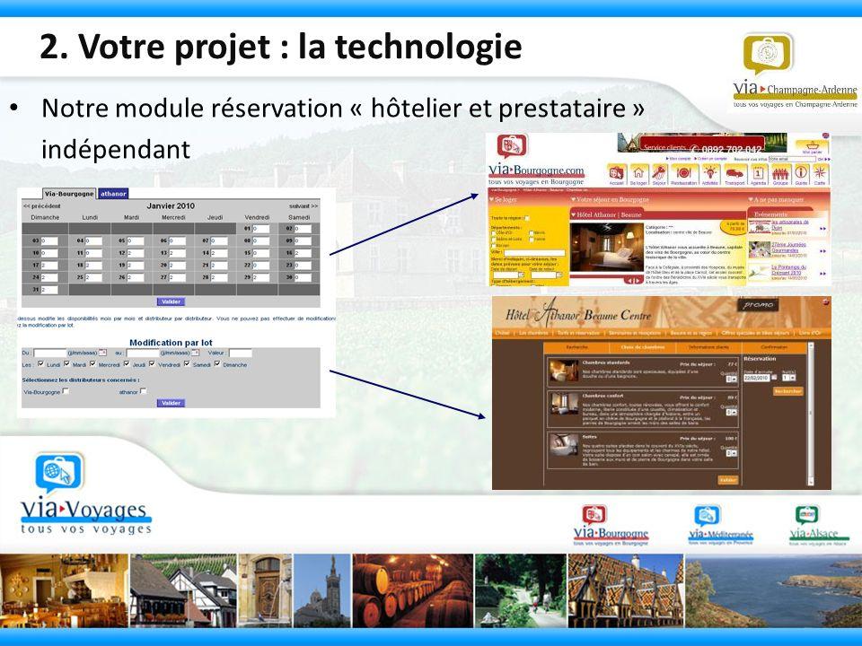 2. Votre projet : la technologie