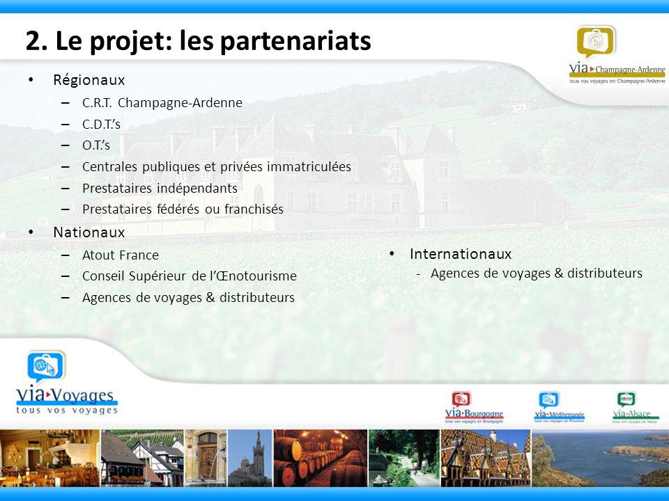 2. Le projet: les partenariats