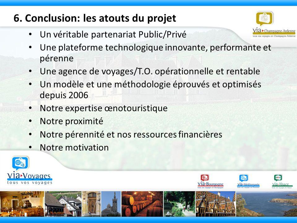 6. Conclusion: les atouts du projet