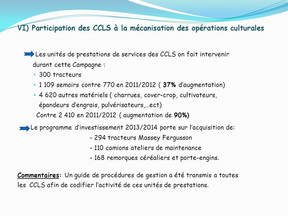 Les unités de prestations de services des CCLS on fait intervenir