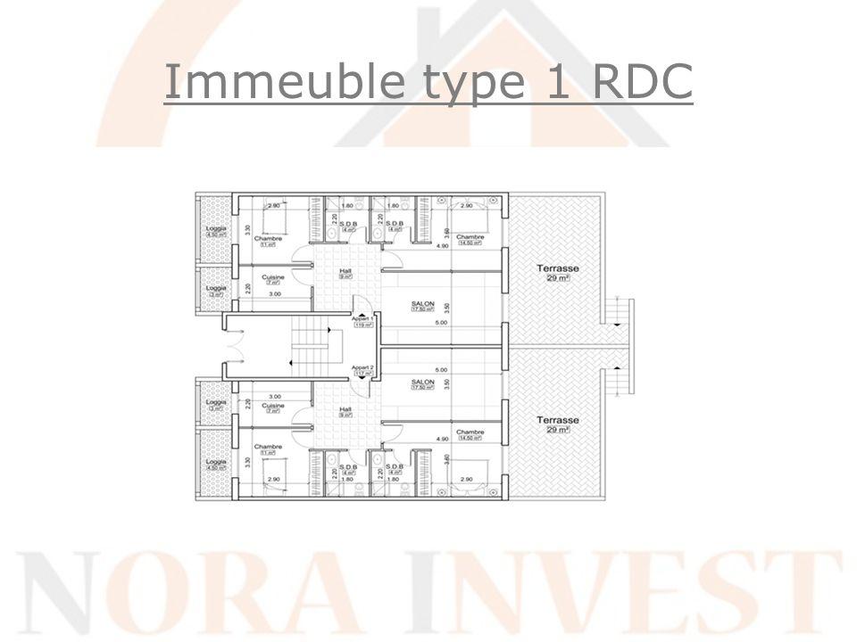 Immeuble type 1 RDC