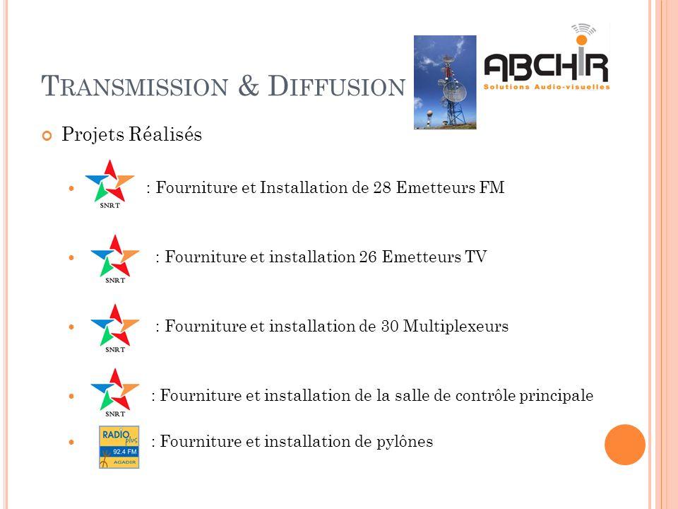 Transmission & Diffusion