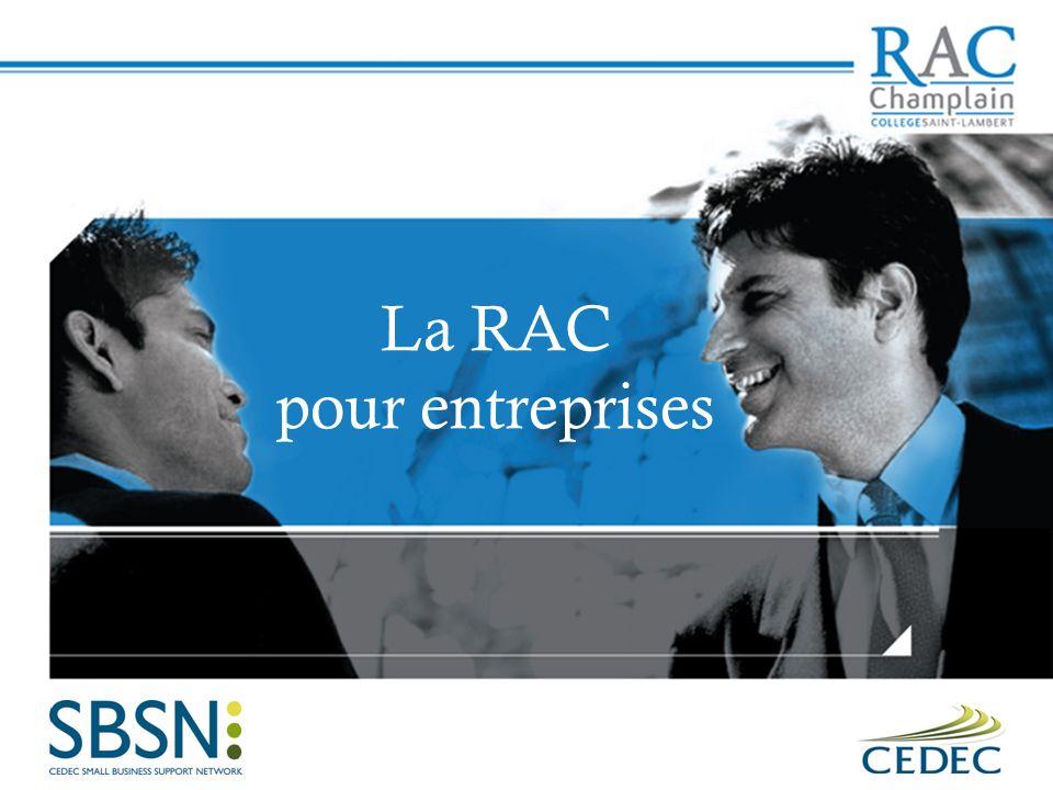 La RAC pour entreprises