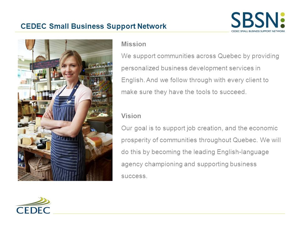 CEDEC Small Business Support Network