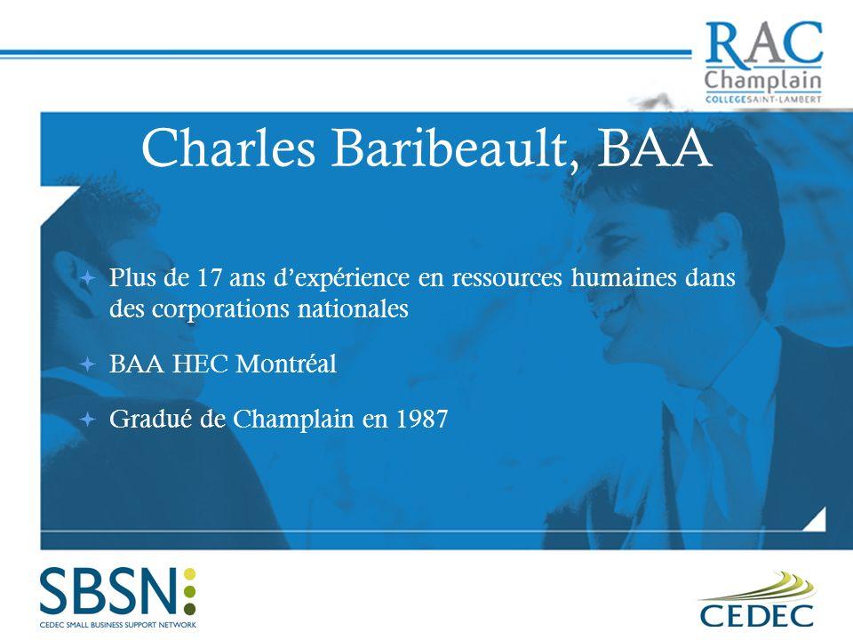 Charles Baribeault, BAA